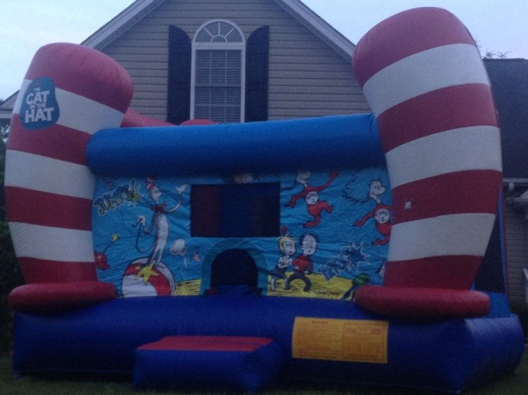 Cat in the Hat Bounce House