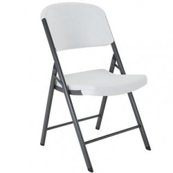 White Lifetime Chair