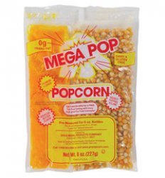 Additional Popcorn Supplies (9 Bags)